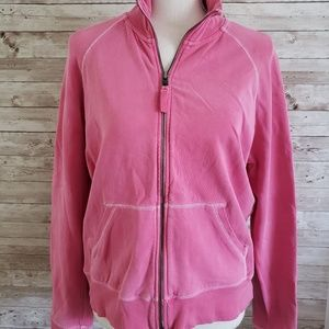 GAP Pink Zippered Sweatshirt
